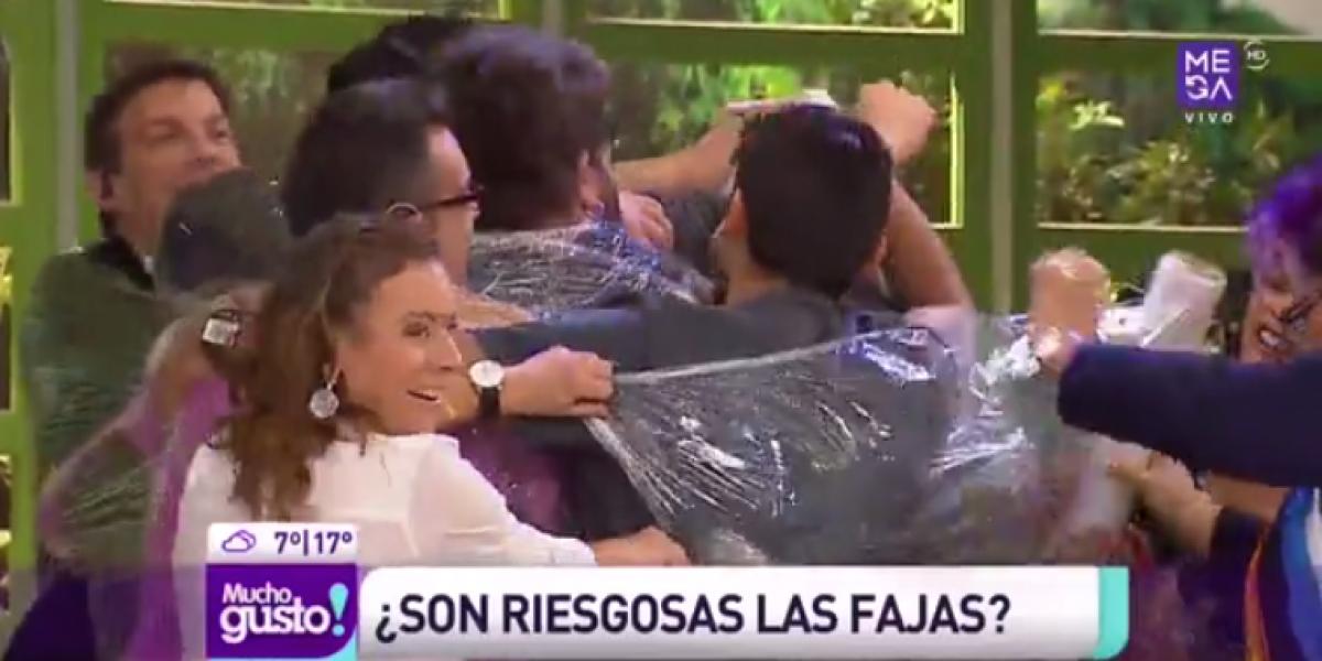 Fernando Godoy sufrió con el olor de sus compañeros de