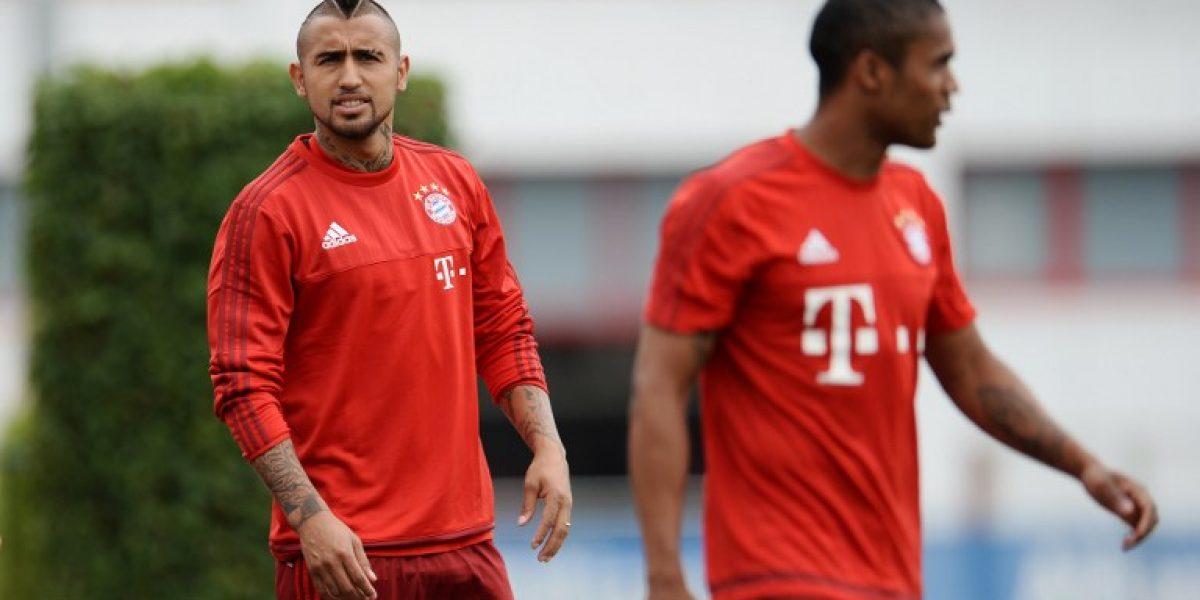 Vidal fue citado en Bayern Münich para la Supercopa ante Wolfsburgo