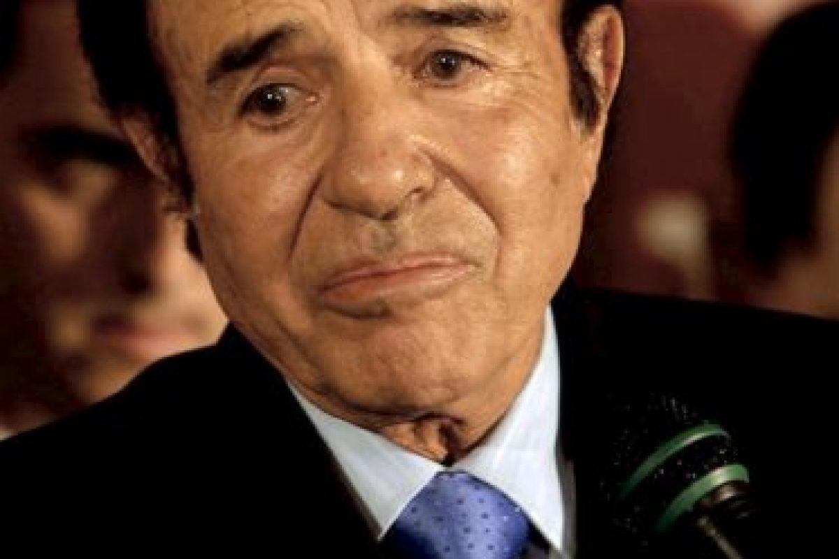También fue gobernador de esta provincia de 1983 a 1989 Foto:Getty Images. Imagen Por: