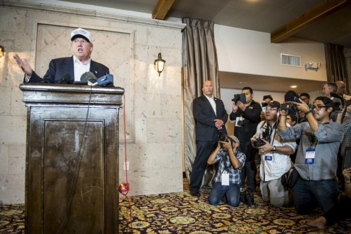 Le siguen el gobernador de Nueva Jersey, Christopher Christie, con un 15 por ciento y Jeb Bush con un 14 por ciento. Foto:Getty Images. Imagen Por: