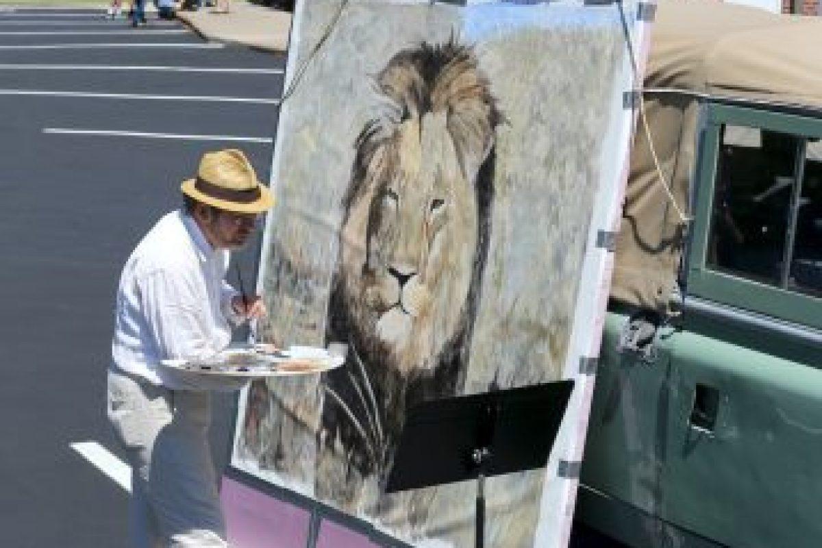 Se han hecho pinturas del león Foto:Getty Images. Imagen Por: