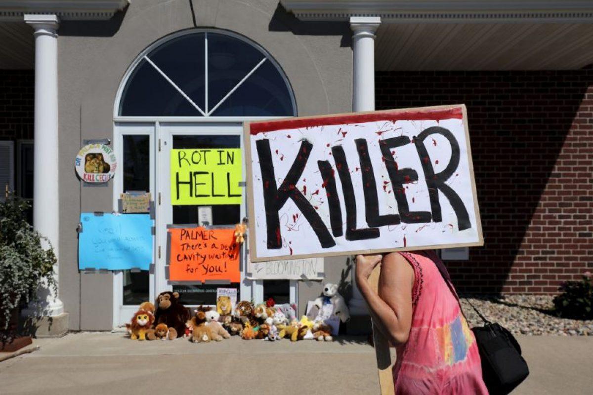 "Se le llama ""asesino"" a Palmer Foto:Getty Images. Imagen Por:"