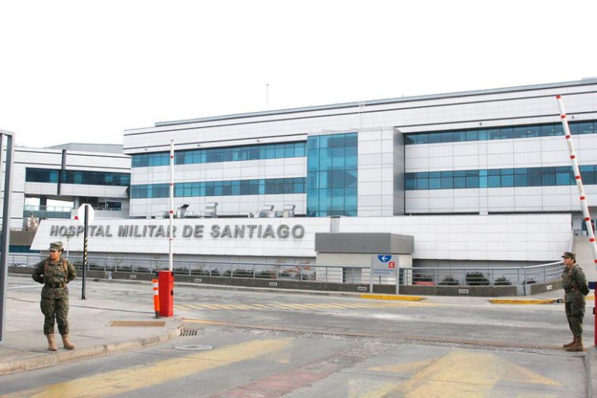 Respuestac) Fue internado con compromiso vital en el Hospital Militar Foto:Agencia Uno. Imagen Por: