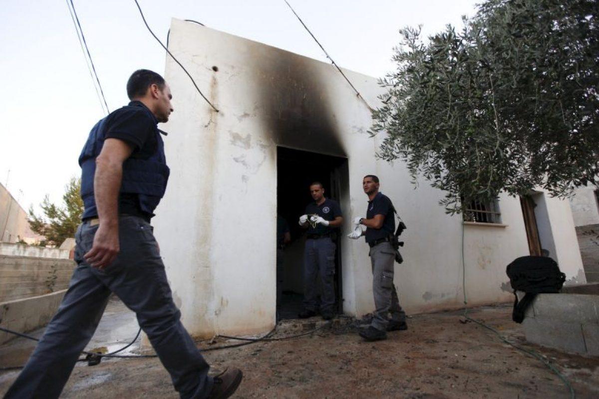 Un total de 540 niños palestinos murieron Foto:AP. Imagen Por: