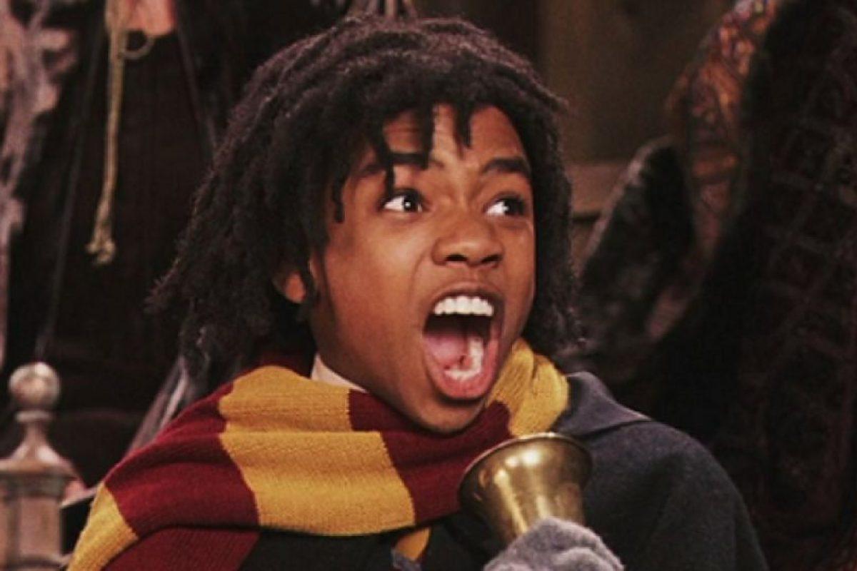 """Interpretó a """"Lee Jordan"""", el narrador de los partidos de """"Quidditch"""" Foto:vía facebook.com/harrypottermovie. Imagen Por:"""