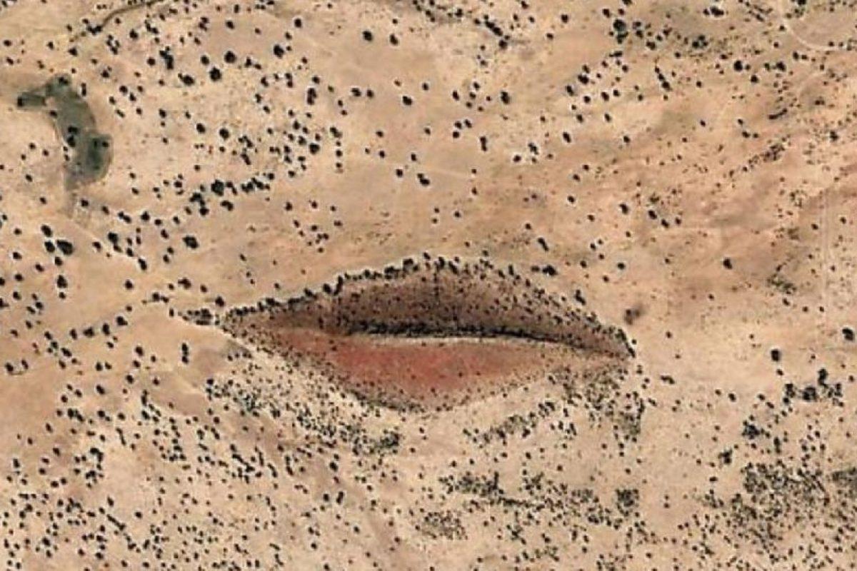 Unos labios en el desierto Foto:Google. Imagen Por: