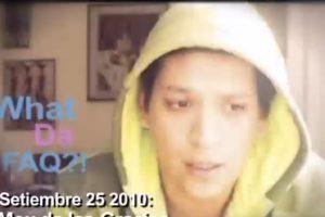 Mox, es peruano, tiene 3 millones de seguidores en su canal. Foto:vía Whatdafaq Show/Youtube. Imagen Por: