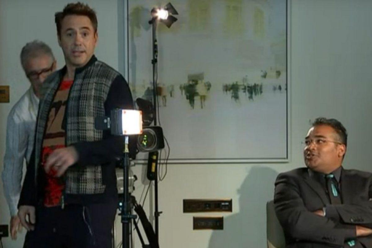 1. Robert Downey Jr. quiere dejar atrás su vida personal tumultuosa. Foto:vía Channel 4. Imagen Por: