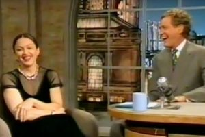 5. Madonna se fumó un porro frente a David Letterman. Foto:vía Youtube. Imagen Por: