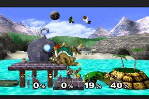 """Super Smash Bros. Melee"" para Game Cube Foto:Nintendo. Imagen Por:"
