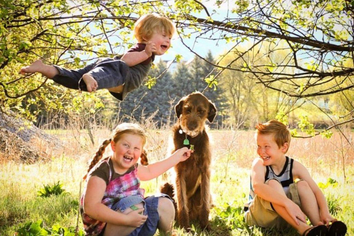 La familia de Will ha compartido estas imágenes para que la gente sepa la felicidad que puede brindar un niño que tienen Síndrome de Down. Foto:Vía thatdadblog.com. Imagen Por: