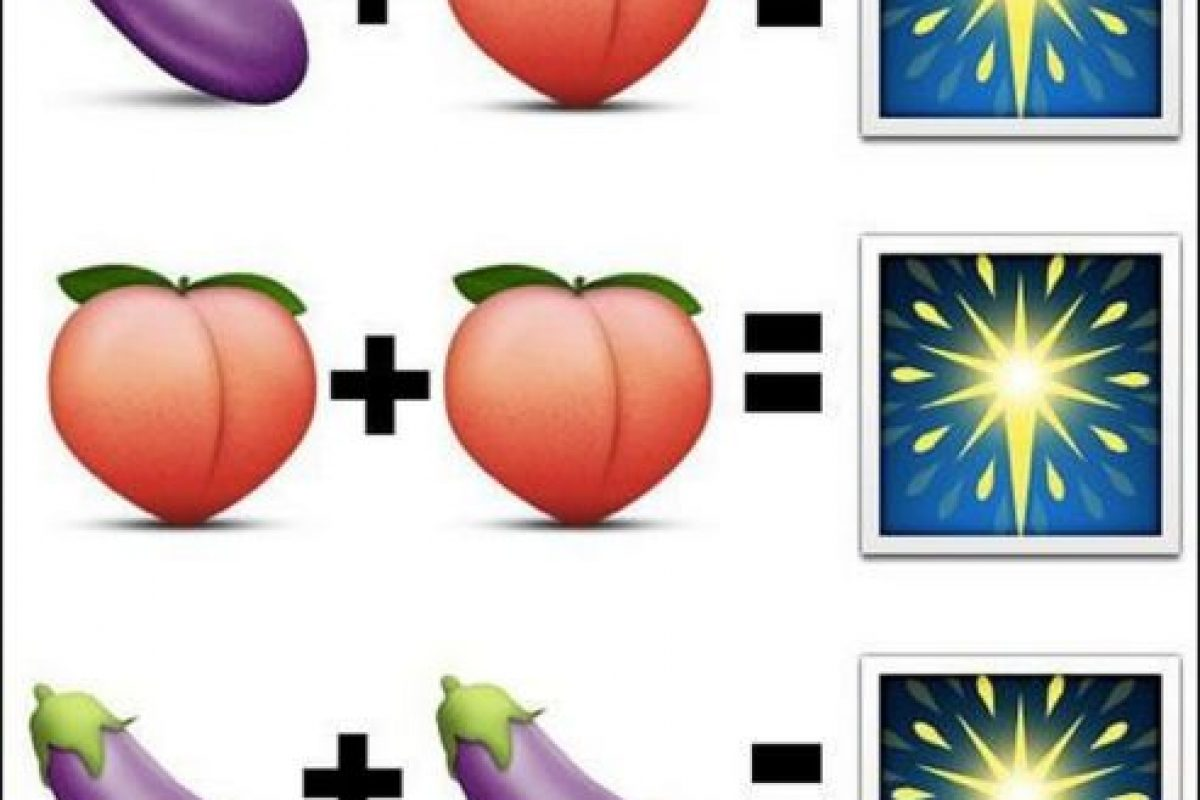 Así es como lo usaban los usuarios en las diferentes redes sociales. En la imagen, el durazno también simula el trasero de una persona y el fuego pirotécnico puede simbolizar fiesta, emoción o celebración Foto:Emojipedia. Imagen Por: