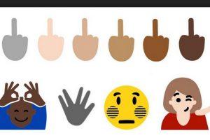 """Windows 10 y WhatsApp (con un truco) ya cuentan con el emoji de la también llamada """"peineta"""" Foto:Emojipedia. Imagen Por:"""