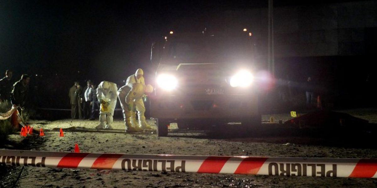 Millonario robo a camión de valores deja dos muertos y 5 detenidos