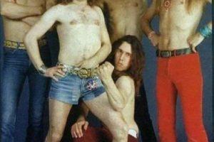 """2. La banda de heavy metal, """"Scorpions"""" lucía así. Foto:Tumblr. Imagen Por:"""