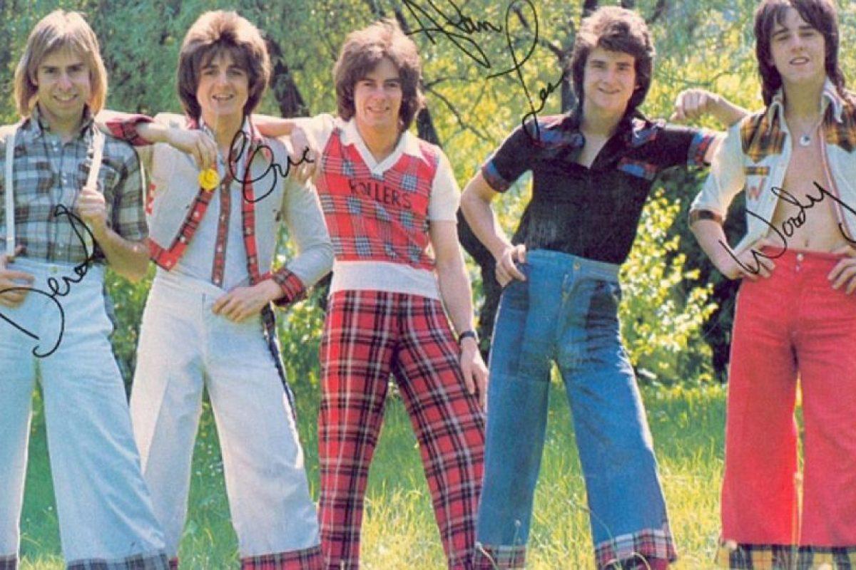 """6. """"Bay City Rollers"""" es un grupo de Reino Unido que toca rock, pop y glam. Foto:Pinterest. Imagen Por:"""