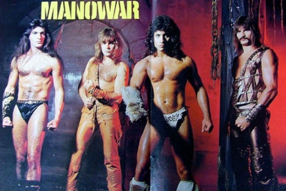"""7. Esta banda estadounidese llamada """"Manowar"""" toca heavy y power metal. Foto:Know Your Meme. Imagen Por:"""