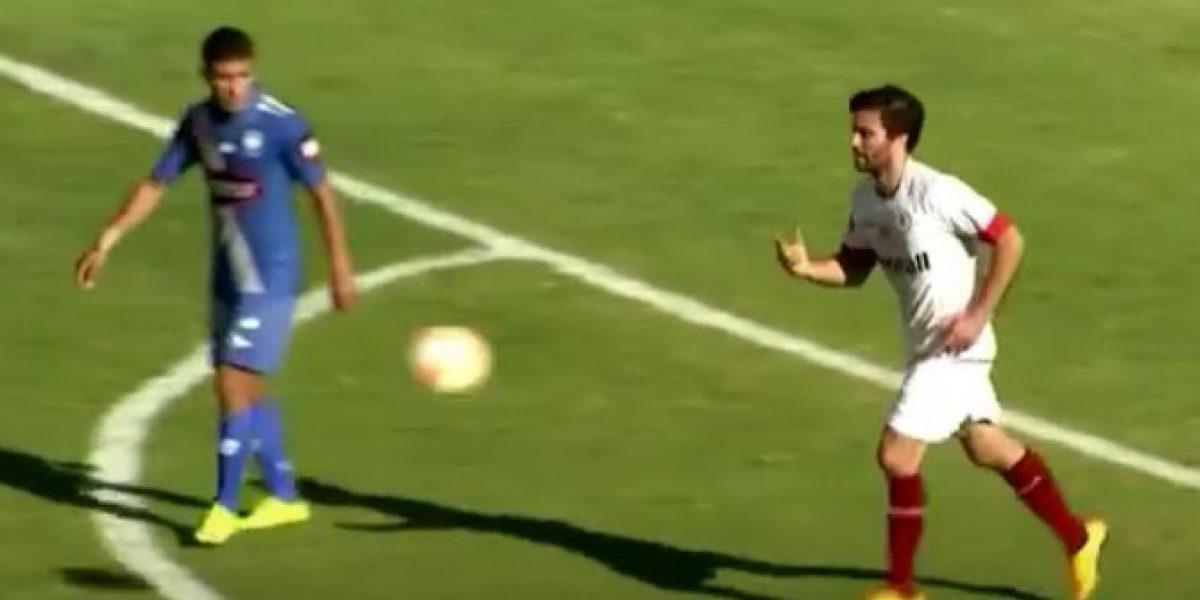 Mauro Olivi se reencontró con las redes tras marcar de cabeza en la Sudamericana