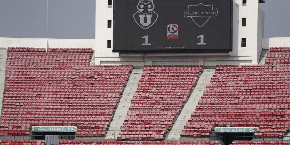 Al estadio de la U se le cierran las puertas pese a la insistencia de Azul Azul