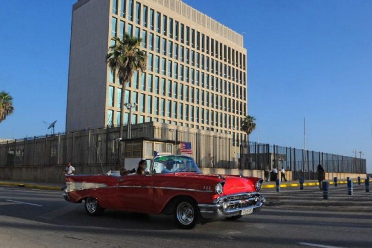 La Embajada de los Estados Unidos cerró en 1961 cuando ambos países rompieron relaciones diplomáticas. Foto:AFP. Imagen Por: