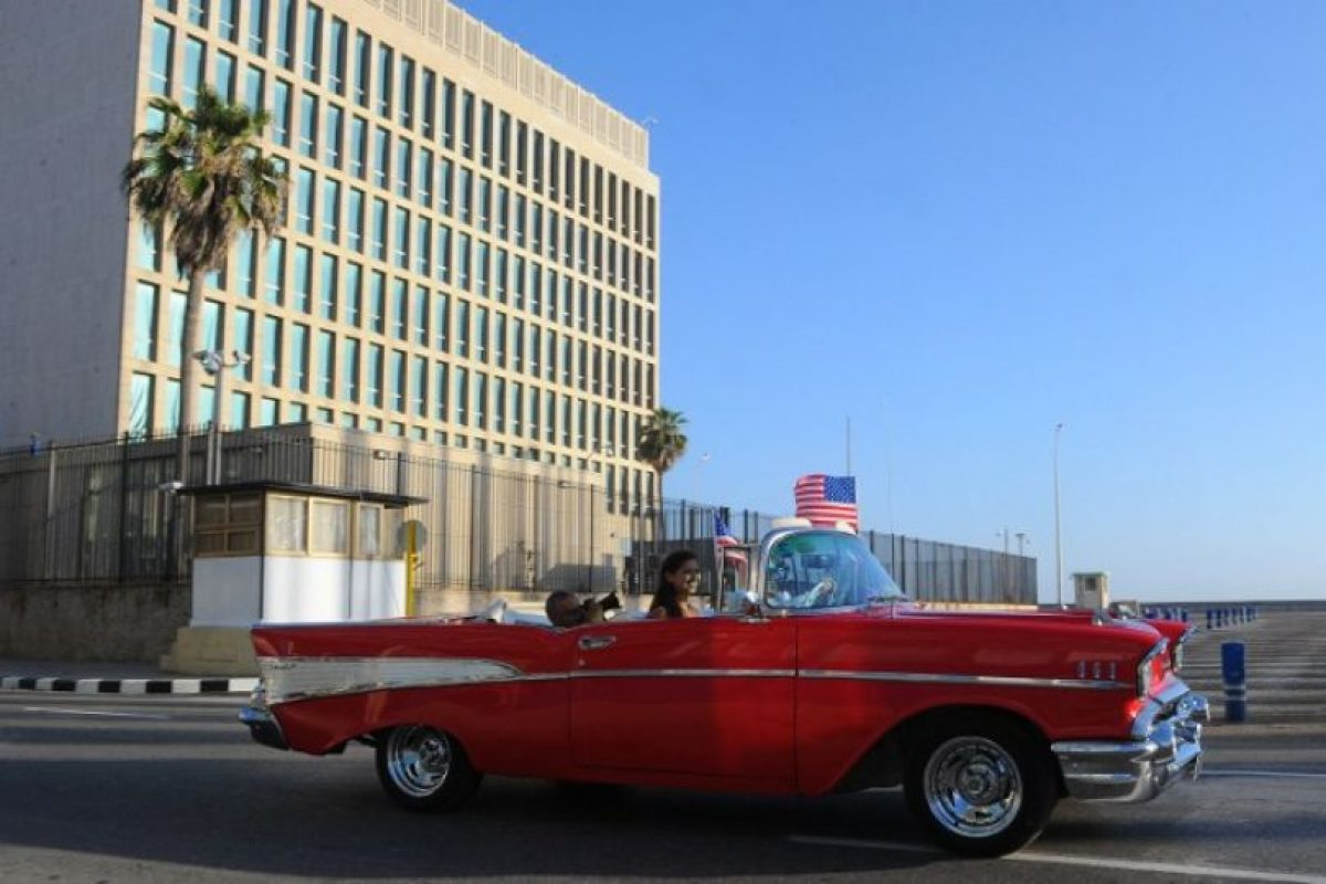 Los Estados Unidos establecieron relaciones diplomáticas con la República de Cuba en 1902, y la primera embajada abrió en 1923. Foto:AFP. Imagen Por: