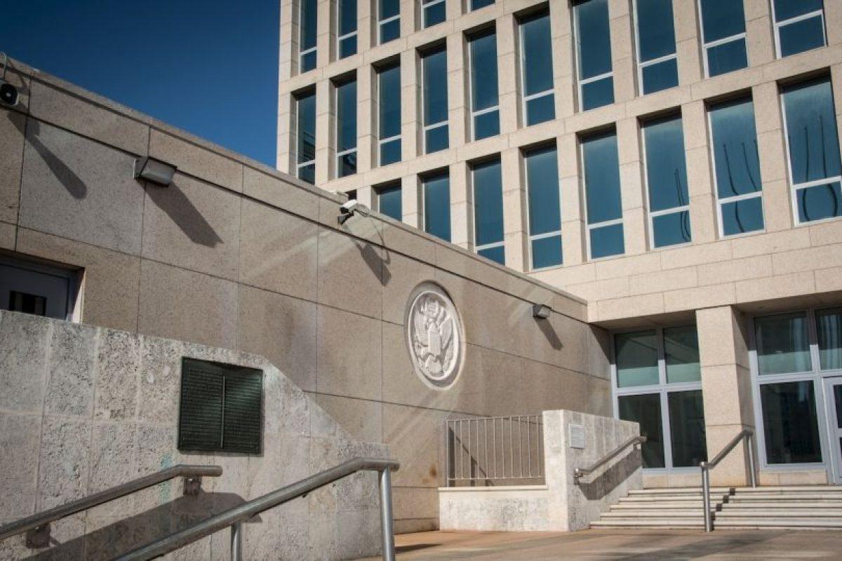 La representación diplomática estadounidense se encuentra ubicada en el Malecón de la capital cubana Foto:AFP. Imagen Por: