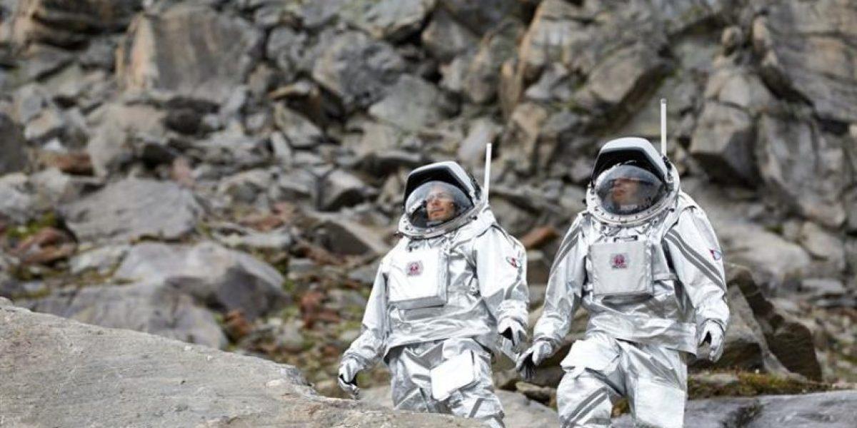 Una misión se prepara en un glaciar alpino para ir a Marte