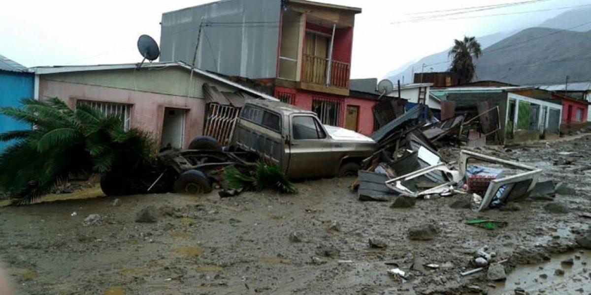 Onemi: 50 viviendas destruidas y 150 con daños tras aluvión en Tocopilla