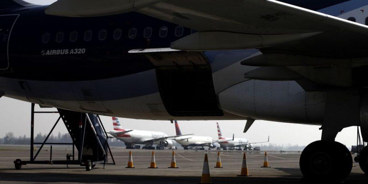 Inauguran nuevos estacionamientos para aviones en aeropuerto de Santiago