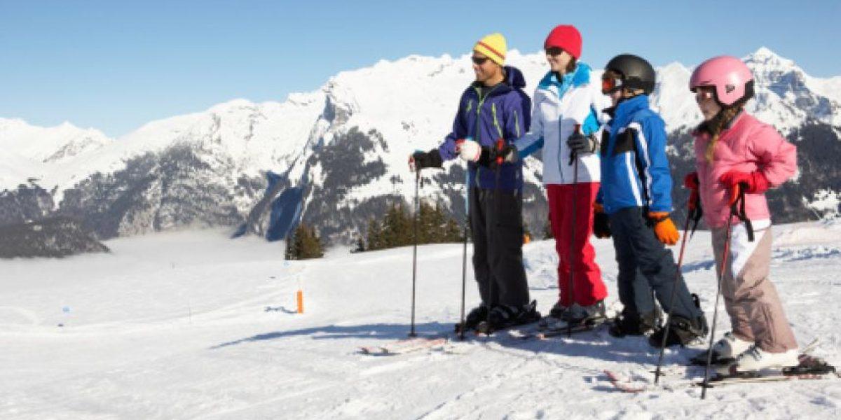 ¡Prepárate para esquiar!