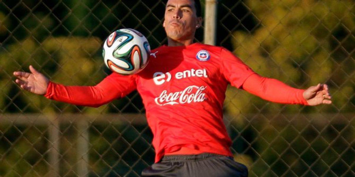 Esteban Paredes podría regresar a la Roja en el amistoso frente a Paraguay