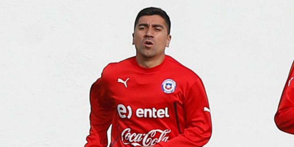 David Pizarro se recupera de su lesión en Juan Pinto Durán