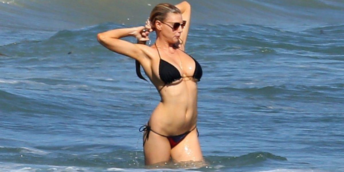 Las celebridades que lucieron diminutos bikinis esta semana