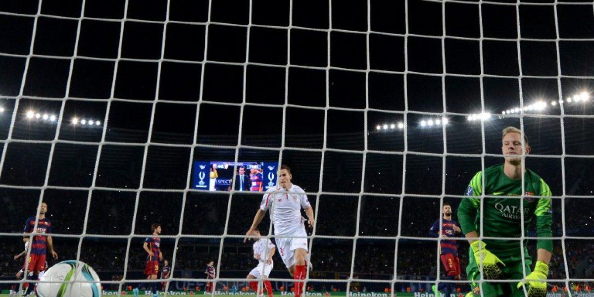 Ter Stegen quiso jugar a lo Neuer y recibió tremendo golazo