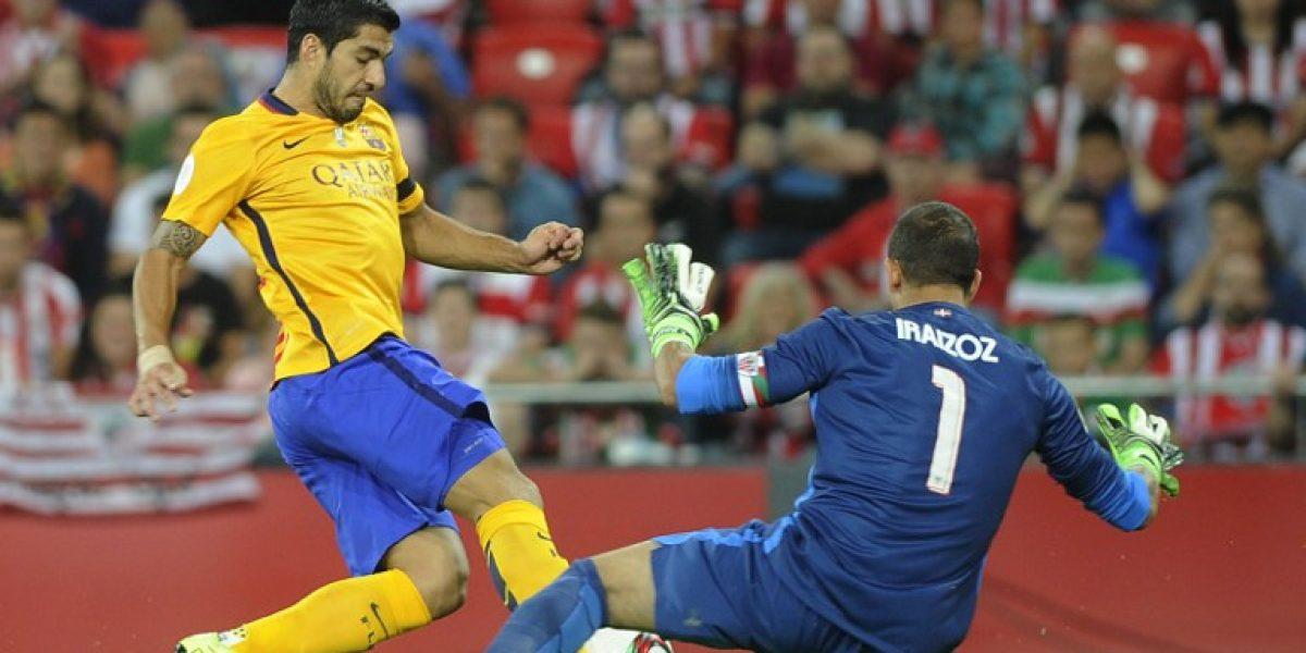 Barcelona fue vapuleado por Athletic en la primera final de la Supercopa española