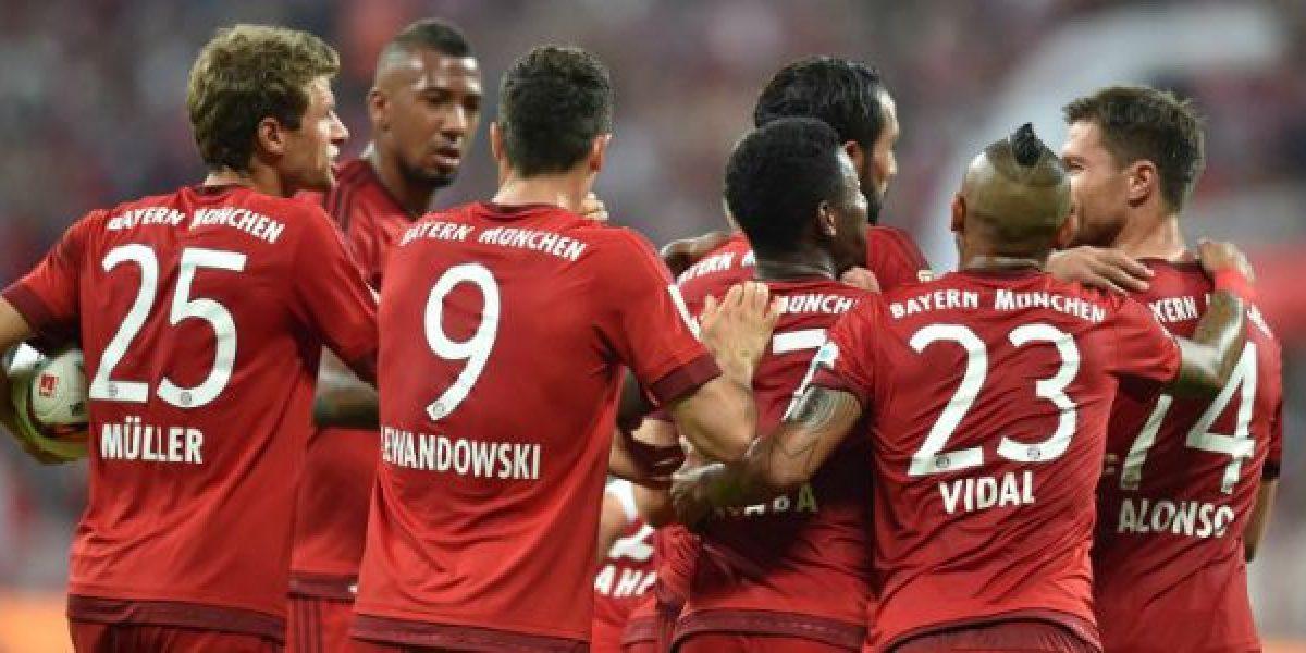 Bayern Munich goleó a Hamburgo en el inicio de la Bundesliga