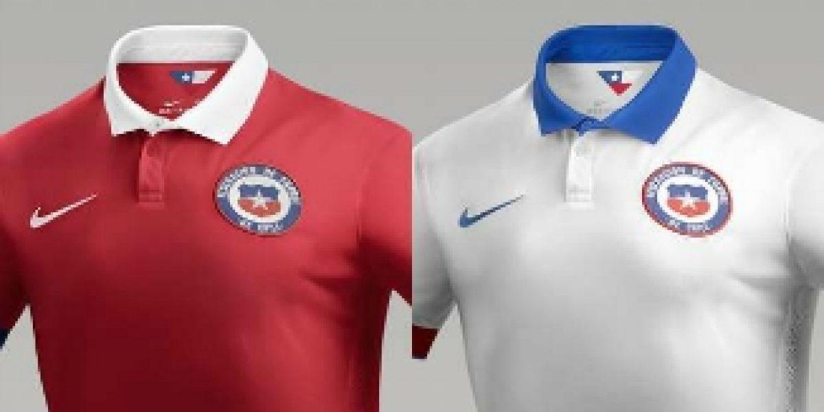 Ya está a la venta la nueva camiseta de la Selección Chilena