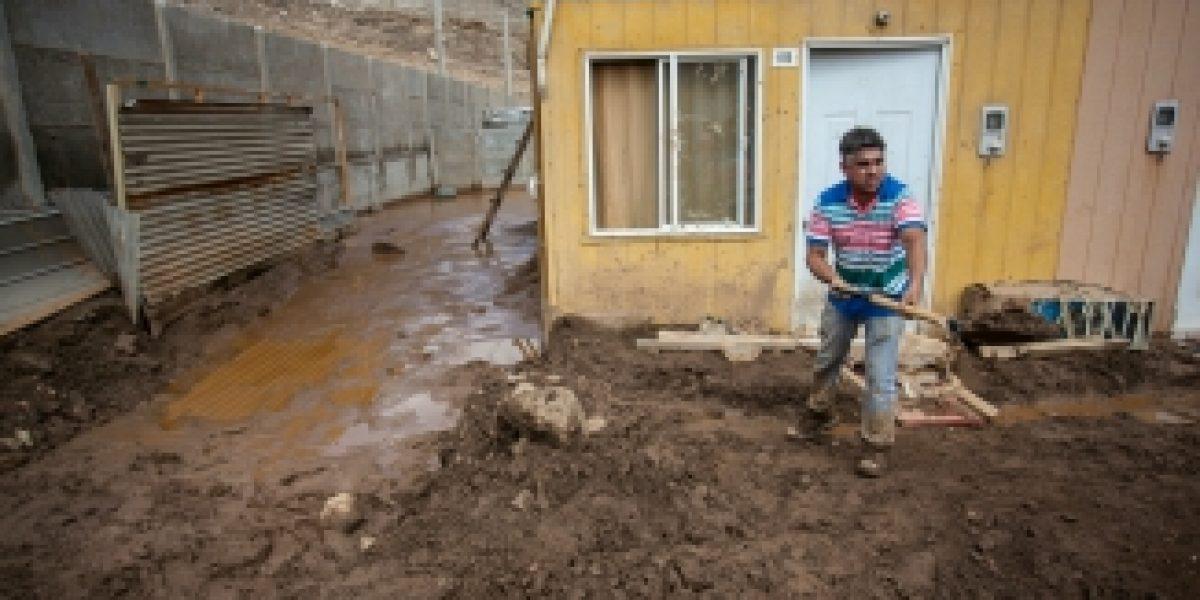 Tía Rica se cuadra con damnificados de Tocopilla