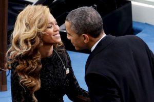 No es novedad que en este se encuentre una canción de la cantante Beyonce, de la cual el presidente se declaró fan Foto:Getty Images. Imagen Por: