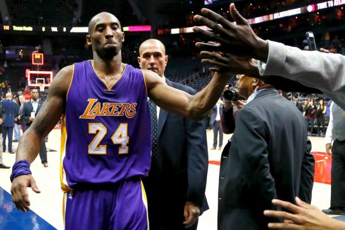 El líder de los Lakers analiza retirarse después de los Juegos Olímpicos de Río 2016 Foto:Getty Images. Imagen Por: