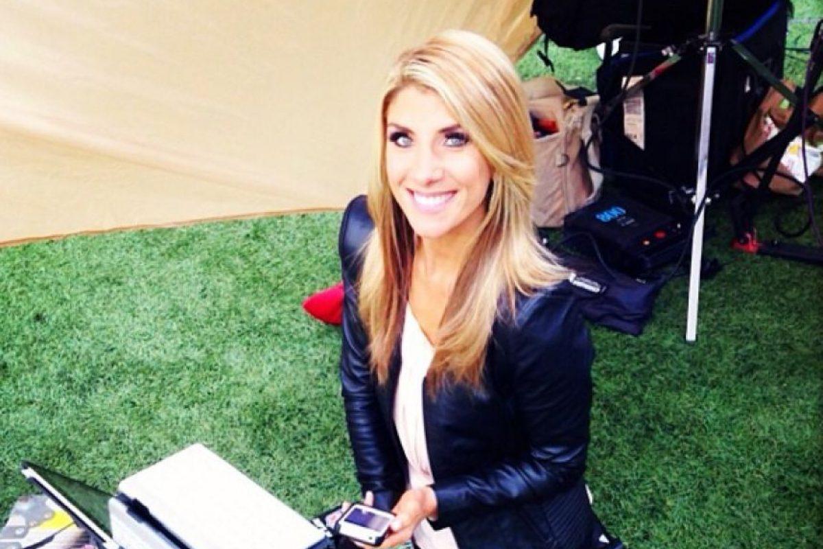 Conductora en ESPN Foto:Vía instagram.com/michellebeisner. Imagen Por: