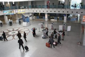 Las básculas se encontraran en la zona de embarques. Foto:Vía facebook.com/Uzbekistan-Airways. Imagen Por: