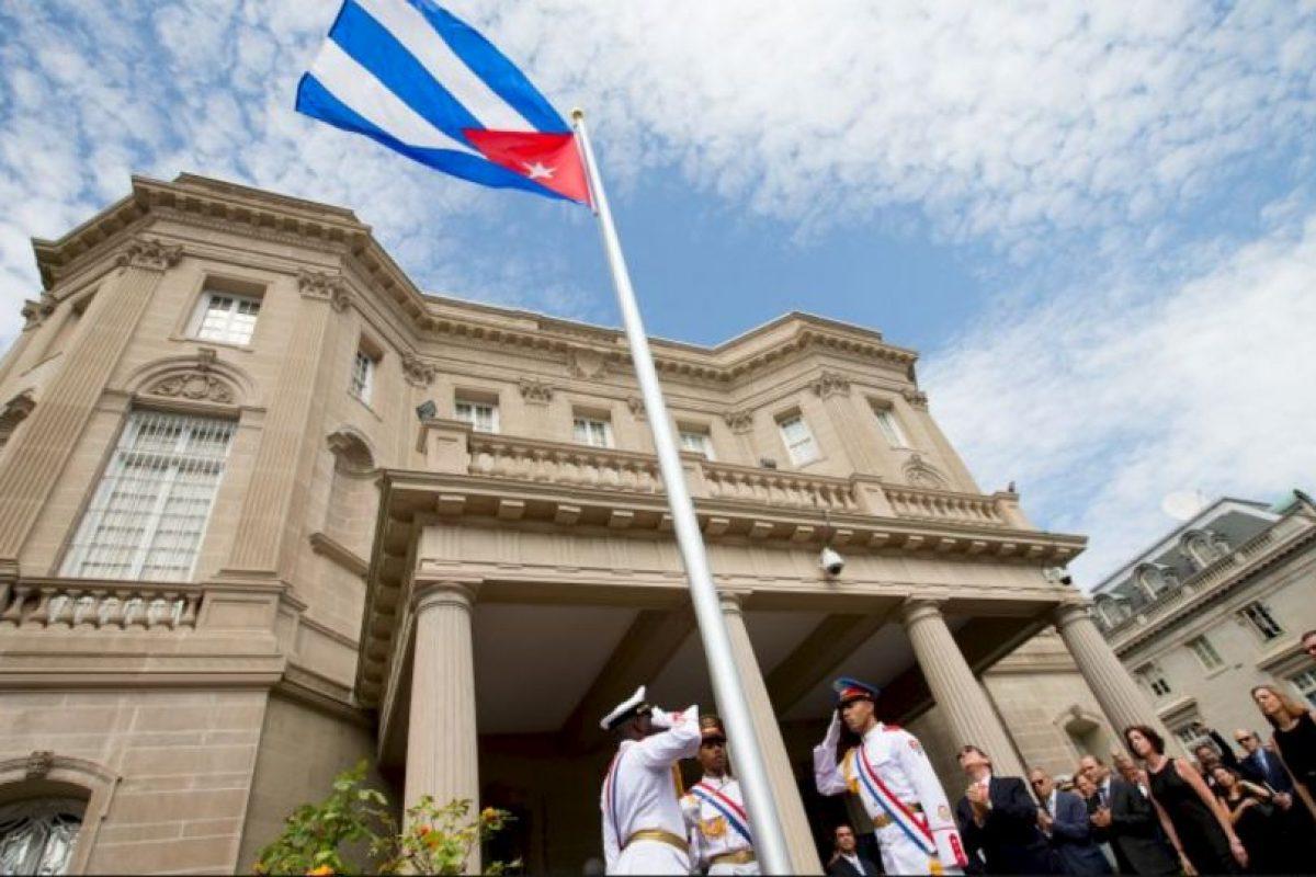 El 20 de julio la embajada de Cuba se reabre en Estados Unidos. Foto:AP. Imagen Por: