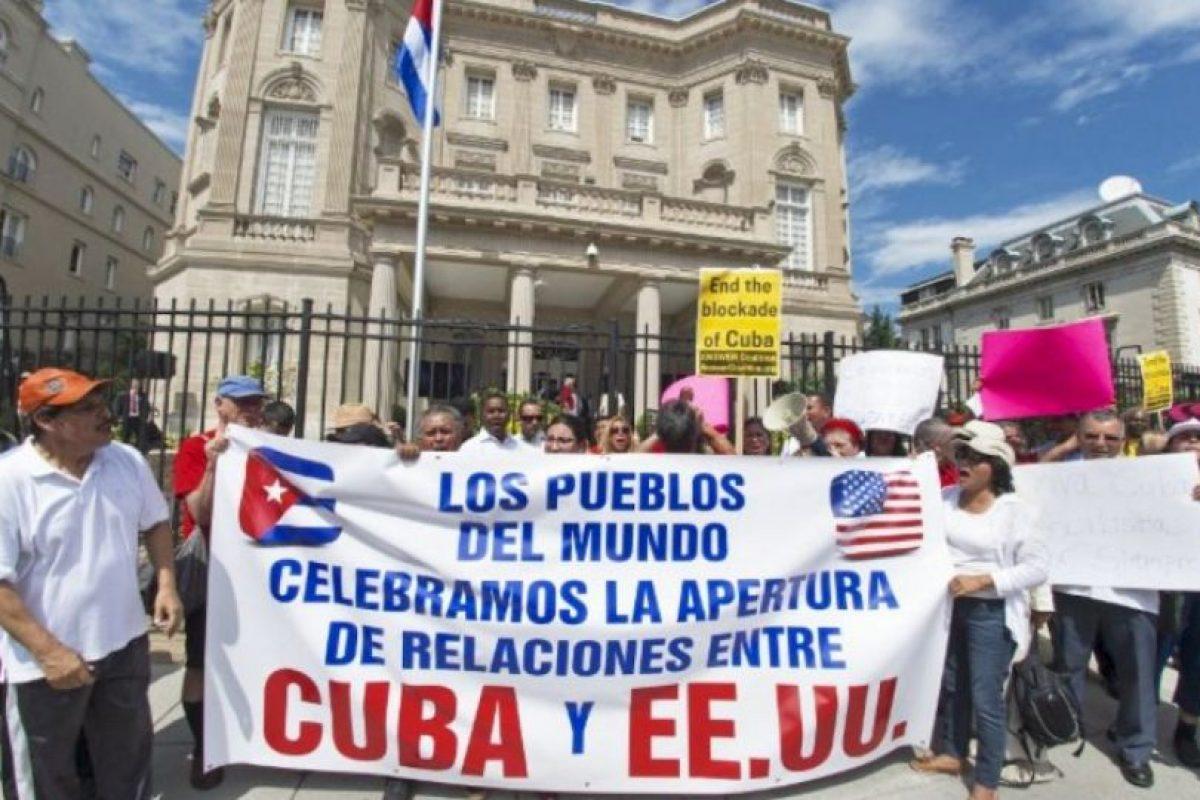 La Embajada de los Estados Unidos cerró en 1961 cuando ambos países rompieron relaciones diplomáticas. Foto:AP. Imagen Por: