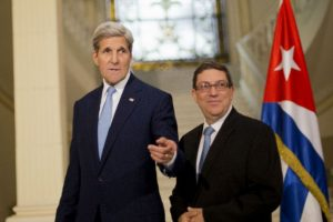 Ambos creen que este es un gran paso para las normalizaciones de las relaciones entre ambos gobiernos. Foto:AP. Imagen Por: