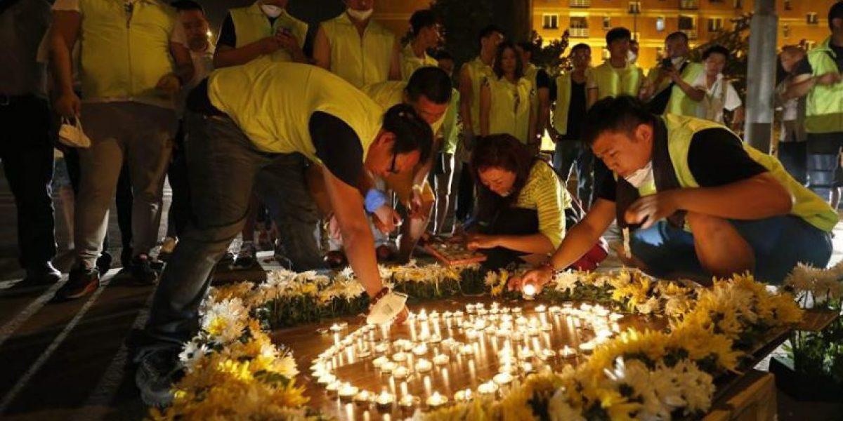 Aumenta a 104 la cifra de muertos por explosiones en Taijin