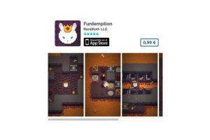 Furdemption es un juego de puzzle que cuenta la aventura de un conejo de la realeza que trata de escapar del infierno. Foto:De RareSloth LLC. Imagen Por: