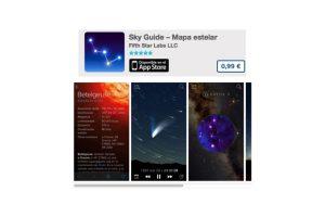 Sky Guide – Mapa estelar es la guía de constelaciones fácil de usar. Precio 1 dólar Foto:De Fifth Star Labs LLC. Imagen Por: