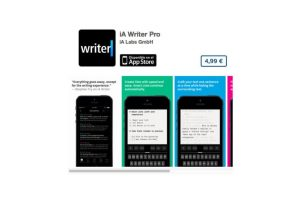 """iA Writer Pro es uno de los mejores editores de texto. El sitio """"The Verge"""" lo señala como maximizador minimalista de los editores de texto para iPhone. Precio seis dólares Foto:De iA Labs GmbH. Imagen Por:"""