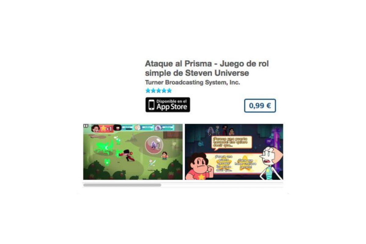 """Ataque al Prisma – Juego de rol simple de """"Steven Universe"""". Precio un dólar Foto:De Cartoon Network. Imagen Por:"""